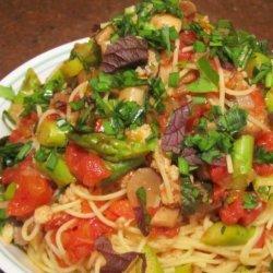 Vegetable Tuna Pasta recipe