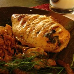 Lime Grilled Chicken Breast recipe