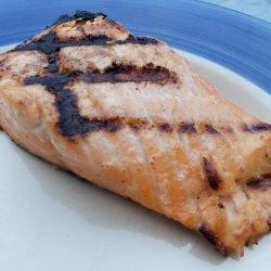 Zesty Marinade for Grilled Wild Salmon Fillets recipe