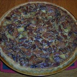 Caramelized Apple Pecan Pie recipe