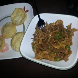 Noodles and Beef recipe