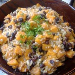 Sweet Potatoes and Black Beans recipe