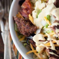 Bacon Cheeseburger Salad recipe