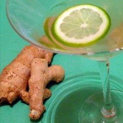 Ginger Infused Vodka recipe
