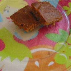 Chewy Peanut Butter Bar recipe