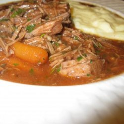 Polenta Meat Stew recipe