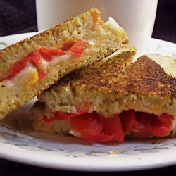 Pesto Grilled Cheese recipe