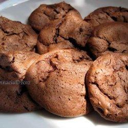 Bittersweet Chocolate Blackout Cookies recipe