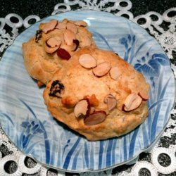 Dried Cherry and Almond Scones recipe