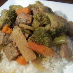 Easy Crock Pot Chop Suey recipe