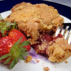 Strawberry Sour Cream Coffee Cake recipe