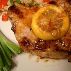 Marinade for Grilled or Broiled Pork Chops recipe