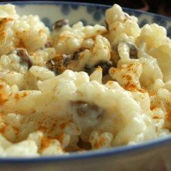 Rice Pudding With Sultanas (Spain) recipe
