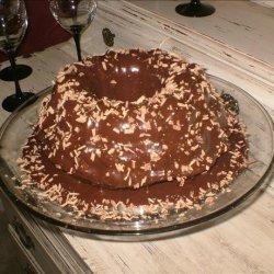 German Chocolate Cake With Milk Chocolate Ganache recipe