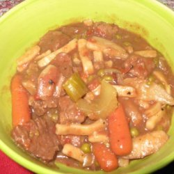 goulashy  Beef Stew for the Slow Cooker recipe