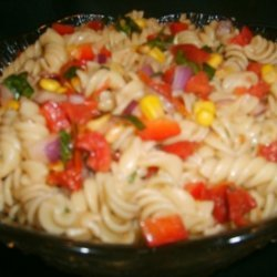 Pasta and Pine Nut Salad - With Gluten-Free Option recipe