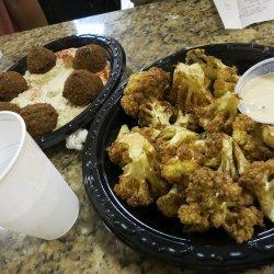 Fried Cauliflower With Tahini Sauce recipe