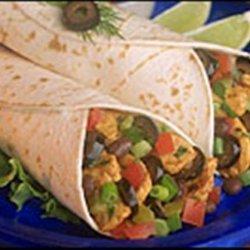 Easy Chicken Salsa Wraps (Stove Top or Crock Pot) recipe