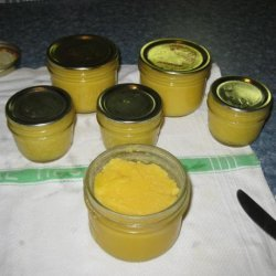 Lemon Curd for Canning recipe