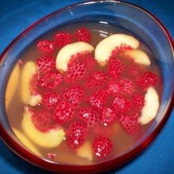 Summer Fruits in a Lemon Verbena and Mint Tea recipe