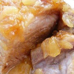 Pineapple Pork Roast (Convection-Microwave) recipe