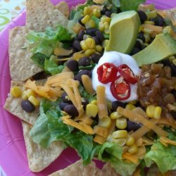 Taco and Black Bean Salad recipe
