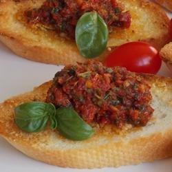 Sun Dried Tomato Pesto (no nuts) recipe