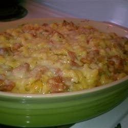 Macaroni with Ham and Cheese Deluxe recipe