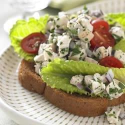 Chicken Caesar Salad Sandwich recipe