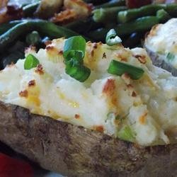 Healthier Ultimate Twice Baked Potatoes recipe