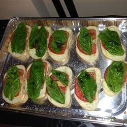 Caprese Salad Sandwiches recipe