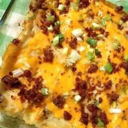 Easy Loaded Baked Potato Casserole recipe