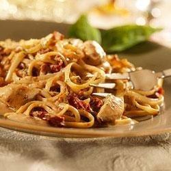 Creamy Chicken and Tomato Pasta recipe