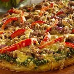 Smoked Sausage Pizza recipe
