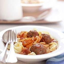 Pasta with Beef and Pepper recipe