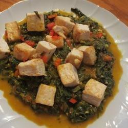 Palak Paneer (Indian Spinach and Paneer) recipe