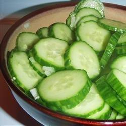 Mom's Cucumbers recipe