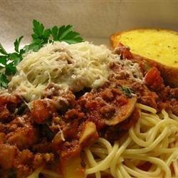 Spaghetti Sauce III recipe