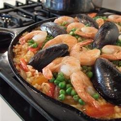 Paella I recipe