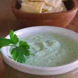 Cilantro Serrano Cream Sauce recipe