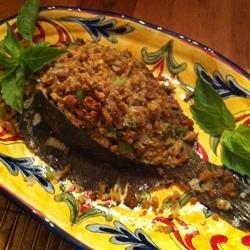 Brian's Easy Stuffed Flounder recipe