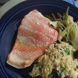 Dill Poached Salmon recipe