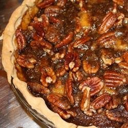 Caramel-Pecan Pumpkin Pie recipe