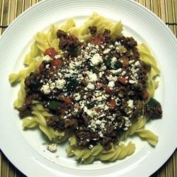 Easy Greek Skillet Dinner recipe