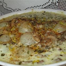 Creamed Onions and Sage recipe