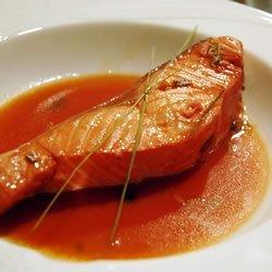 Lemongrass and Citrus Poached Salmon recipe