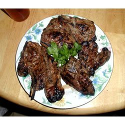 Herbed Lamb Chops recipe