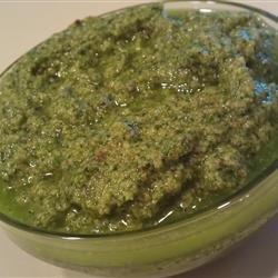 Spicy Cilantro Pesto recipe