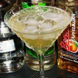Sue's Apple Martini recipe