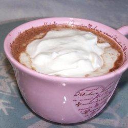 Hot Orange Mocha With Grand Marnier Whipped Cream recipe